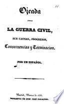 Ojeada sobre la guerra civil