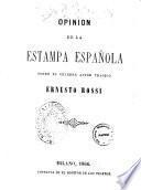Opinion de la estampa espanola sobre el celebre actor tragico Ernesto Rossi