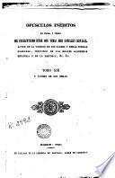 Opúsculos inéditos en prosa y verso