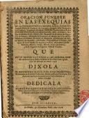 Oracion funebre en las exequias de la Excma Señora Doña Catalina Antonia Folch de Cardona...en la Iglesia Cathedral de Gerona...à los 18.del mès de Abril 1698...