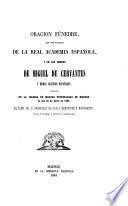 Oracion fúnebre, que por encargo de la Real Academia Española