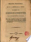 Oración inaugural que en la abertura de la cátedra de economía civil establecida en la Ciudad de Palma... dixo Fr. Eudaldo Jaumeandreu D. L. A. ...