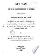Oración que en la solemne bendición de banderas de los cuerpos de Valladolid, artillería, Cádiz y Madrid