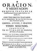 Oración y meditación