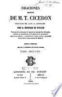 Oraciones escogidas de M. T. Ciceron
