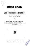 Oráculos de Talia ó los duendes de Palacio