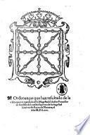 Ordenancas que han resultado de la visita que por mandado de su magestad el doctor Francisco de Auidillo del consejo supremo de su magestad hizo en este reyno de Nauarra