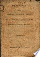 Ordenanza para el regimen, constitucion y servicio de la milicia nacional local de la Peninsula e Islas adyacentes