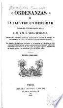 Ordenanzas de la ilustre Universidad y casa de contratacion de la m.n. y m.l. villa de Bilbao