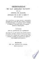 Ordenanzas de las armadas navales de la Corona de Aragon