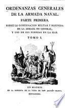 Ordenanzas generales de la armada naval
