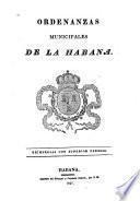 Ordenanzas municipales de la Habana