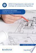 Organización y ejecución del montaje de instalaciones frigoríficas. IMAR0108