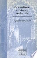 Orientalismo, exotismo y traducción