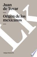Origen de los mexicanos
