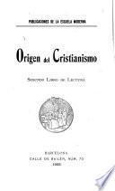 Origen del cristianismo