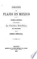 Origen del plajio en Mexico