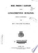 Origen, progresos y clasificación de los conocimientos humanos