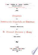 Orígenes de la dominación española en América