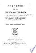 Orígenes de la poesía castellana