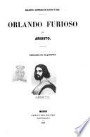 Orlando Furioso adornada con 45 grabados por Ariosto