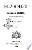 Orlando furioso de Ludovico Ariosto traducido en verso castellano por Augusto de Burgos