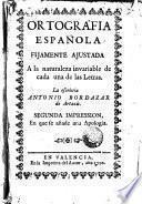 Ortografia española