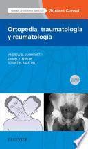 Ortopedia, traumatología y reumatología