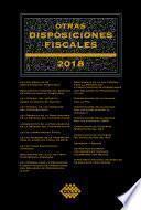 Otras disposiciones fiscales 2018
