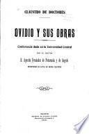 Ovidio y sus obras