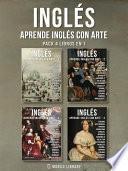 Pack 4 Libros en 1 - Inglés - Aprende Inglés con Arte