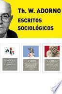 Pack Adorno III. Escritos Sociológicos