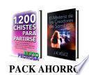 Pack Ahorro: 1200 Chistes para partirse & El Misterio de los Creadores de Sombras