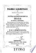 Palabras sacramentales de Jesu-Cristo, ó, El santo sacrificio de la misa en latín y en castellano