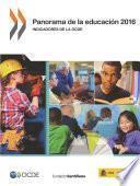 Panorama de la educación 2016 Indicadores de la OCDE