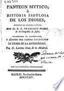 Panteon Mytico, ó Historia Fabulosa de los Dioses