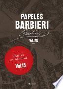 Papeles Barbieri. Teatros de Madrid, vol. 15