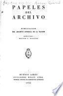 Papeles del Archivo