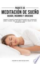 Paquete de Meditación de Sueño Guiado, Insomnio y Ansiedad