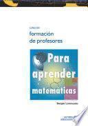 Para aprender matemáticas