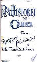 Para la historia de Cuba