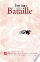 Para leer a Georges Bataille