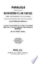 Paralelo entre la vida militar de Espartero y la de Narvaez, etc