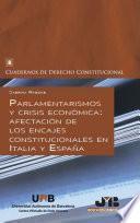 Parlamentarismos y crisis económica