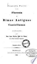 ... ¬parte ¬de ¬la floresta de rimas antiguas castellanas