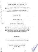 Parte III, Appendice o Coleccion Diplomatica ... contiene escrituras de los siglos VIII, IX, X y XI
