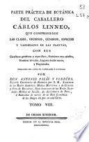 Parte práctica de botánica