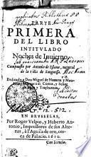 PARTE PRIMERA DEL LIBRO INTITVLADO