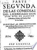 Parte segunda de las comedias del licenciado Don Iuan Ruyz de Alarcon y Mendoça...
