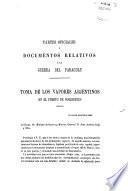 Partes oficiales y documentos relativos a la guerra del Paraguay